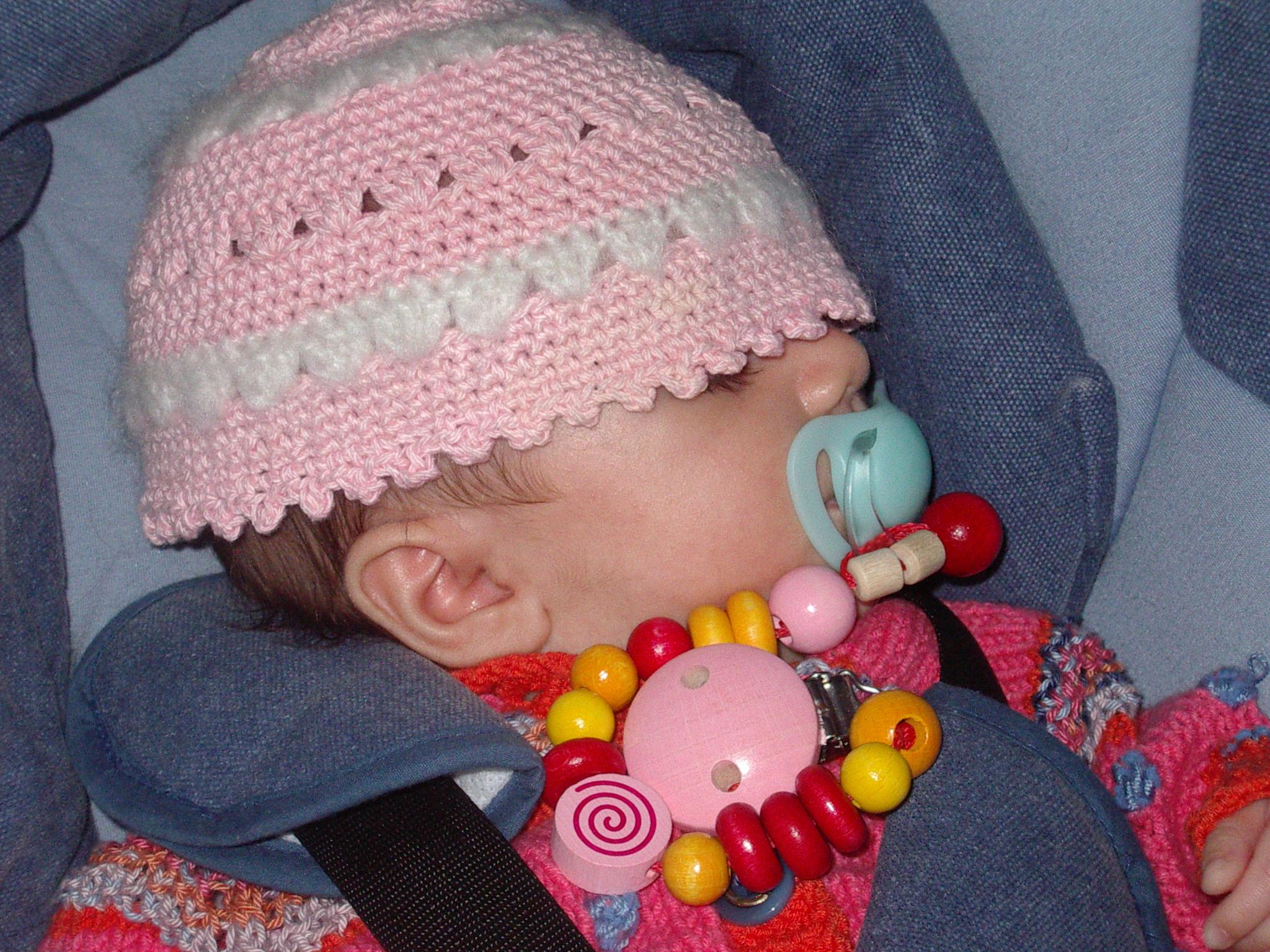 Mit Mütze schläft sicht's super