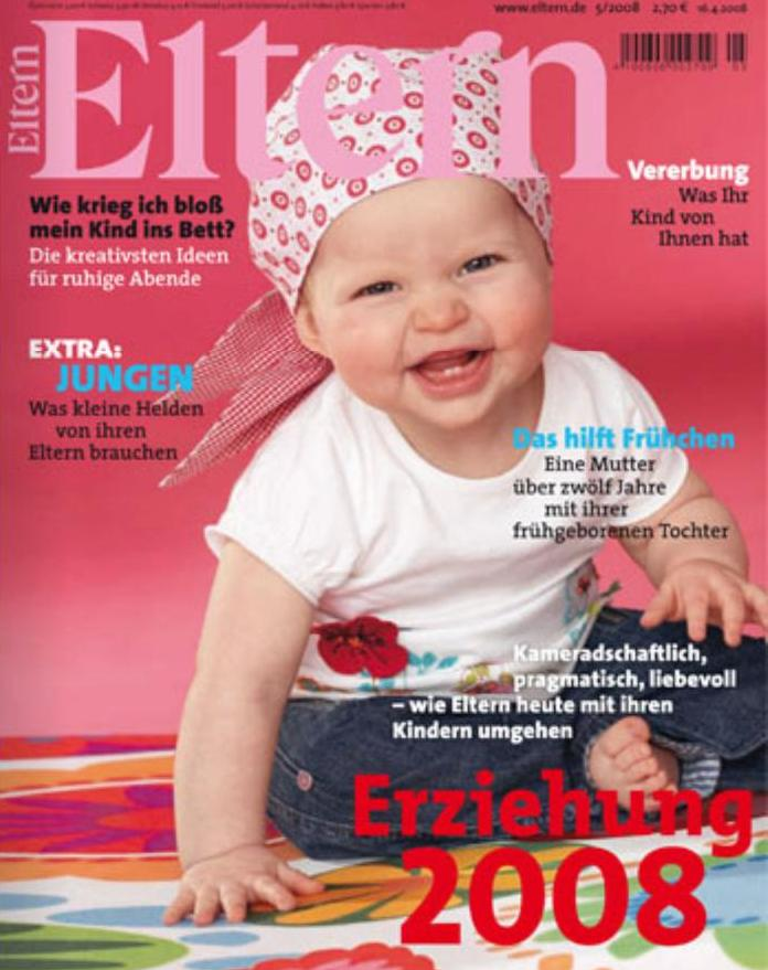 Eltern cover mai 2008