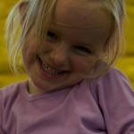 Lilli freut sich