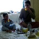 9.5. Frühstück auf der Kabine